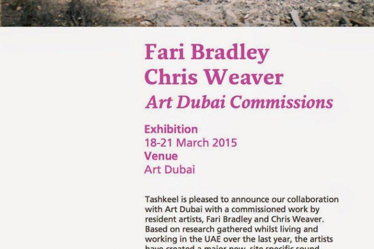Commission Art Dubai 2015
