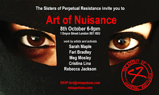 The Art of Nuisance: Residency and Group Show Oct 8th