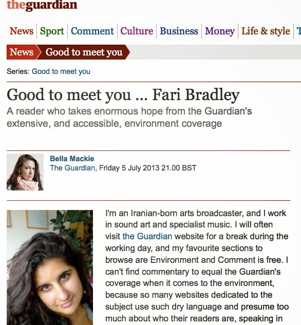 http://www.theguardian.com/theguardian/2013/jul/05/good-to-meet-you-fari-bradley