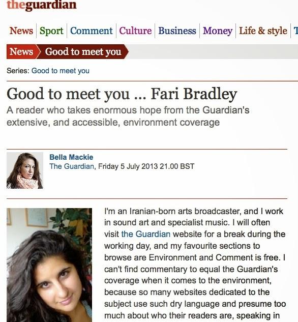http://www.theguardian.com/theguardian/2013/jul/05/good-to-meet-you-fari-bradley