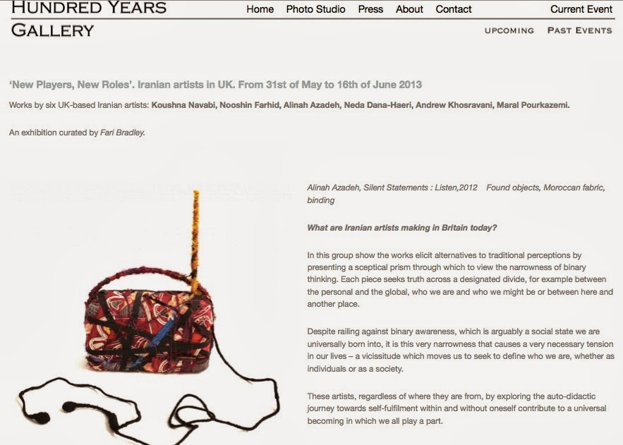 http://www.hundredyearsgallery.com/new-players-new-roles-iranian-artists-in-uk-from-31st-of-may-to-16th-of-june-2013/